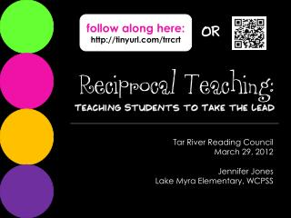 Reciprocal Teaching: A Comprehension Strategy
