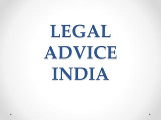 legal advice india