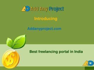 List of freelancing sites in India - Add Any Project