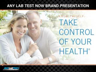 Any lab test now brand presentation