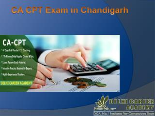CA CPT Exam Coaching In Chandigarh