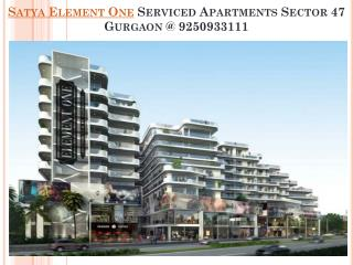Satya Element One Gurgaon commercial Projects @ 9250933111