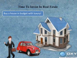 Time To Invest In Real Estate