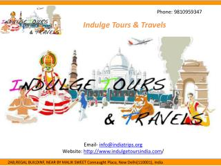 Affordable Tour Packages in India