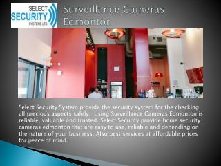 Edmonton Wireless Security System