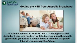 Connecting You to the NBN | Australia Broadband