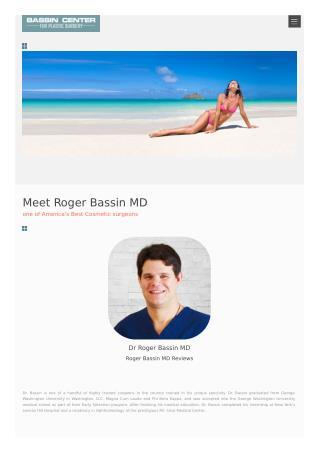 Roger Bassin MD Reviews: Dr. Roger Bassin MD AMAZING Ratings | Roger Bassin Orlando