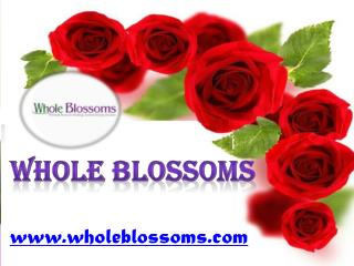 Wholeblossoms - www.wholeblossoms.com