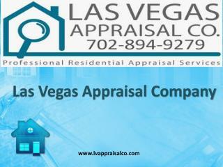 Top Notch Appraisal Service Providers in Las Vegas