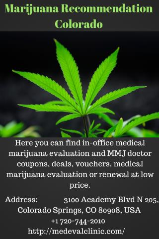 Marijuana Recommendation Colorado