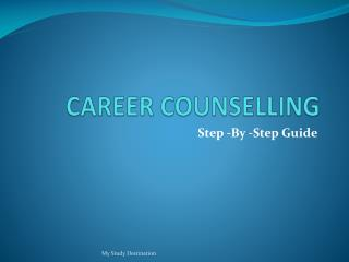 5 Stages of Career Counseling – Study Destination