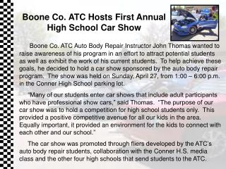 Flash27- Boone Co. ATC Car Show