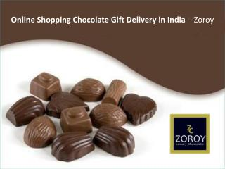 Online Shopping Chocolate Gift Delivery in India – Zoroy
