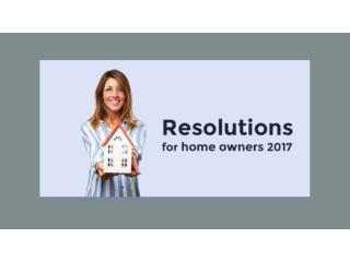 Top Resolutions for Home Owners In 2017