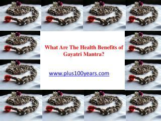 Health Benefits of Chanting Gayatri Mantra
