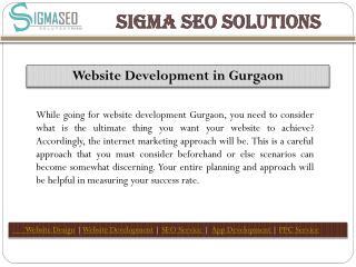 Website Designing in Gurgaon