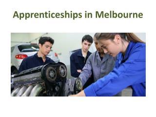 Apprenticeships Melbourne