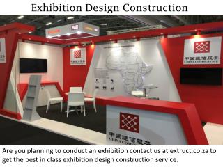 Exhibition Design Construction - extruct.co.za
