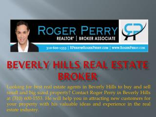 Beverly Hills Real Estate Broker