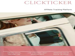 Clickticker-Online Analytics Platform-Affiliate Tracking Platform