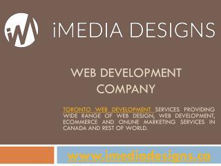 Web Development Company Toronto Canada - iMedia Designs