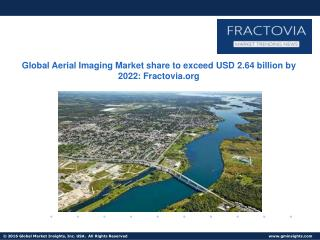 Aerial Imaging Market share in Asia pacific worth over $400mn by 2022