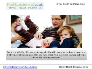 Private Health Insurance Bupa