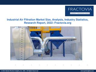 U.S. Industrial Air Filtration Market size to exceed $1.3bn by 2022