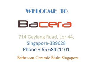 Bathroom Ceramic Basin Singapore
