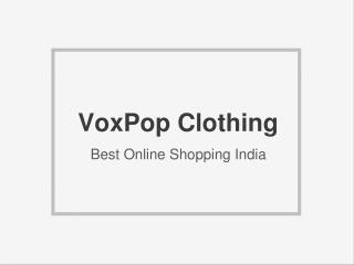 Online Shopping India at VoxPop