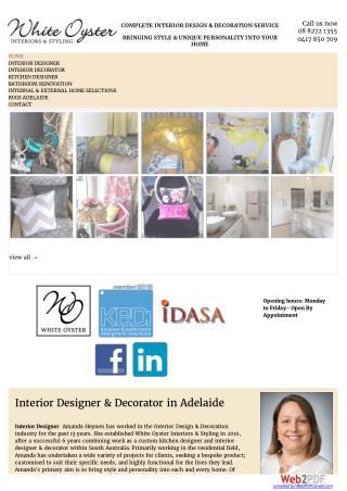 Interior Designer Adelaide