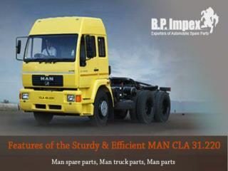 Man spare parts - Bp auto spares india