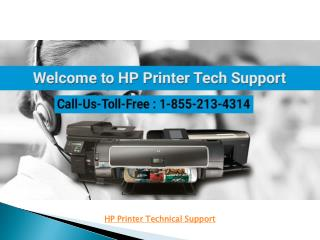 Dial HP Printer Technical Support | 1-855-213-4314 Toll-Free Number