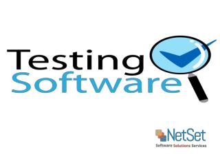 Software Testing Services Company India - NetSet Software