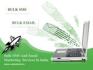 Bulk SMS & Email Marketing Services In India