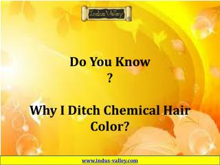 Safe Hair Color - Cover Your White Hair With Ayurvedic Treatment