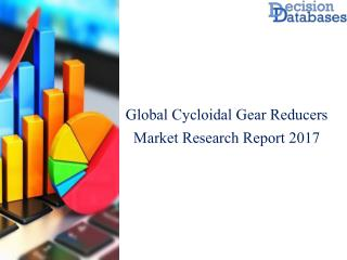Global Cycloidal Gear Market Analysis By Applications and Types