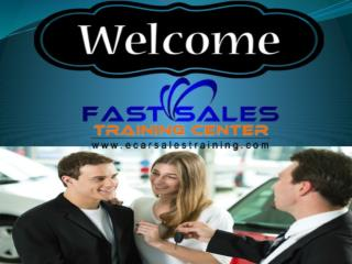 Auto Sales Training Books
