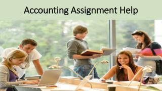 Accounting Assignment Help - My Homework Help Online