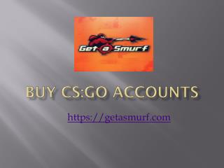 Buy CS GO Ranked Accounts At lowest Prices