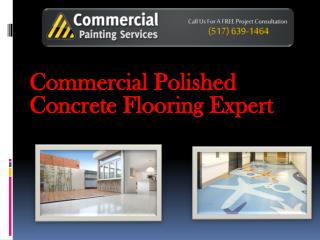 Commercial Polished Concrete Flooring Expert