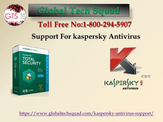 Connection Support For Kaspersky Antivirus For USA Toll Free 1-800-294-5907.