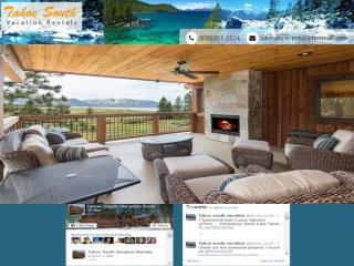 South Lake Tahoe  vacation rentals