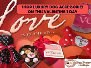 Shop Luxury Dog Accessories On This Valentine's Day