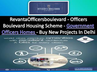 Government Officers Homes - Officers Boulevard Housing Scheme