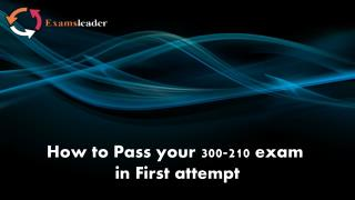 300-210 Exam Questions