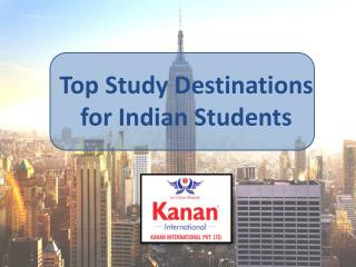 Top Study Destinations for Indian Students