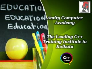 The Leading C   Training Institute in Kolkata