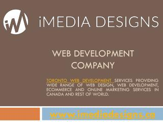 iMedia Designs | Best Website Development Companies in Canada