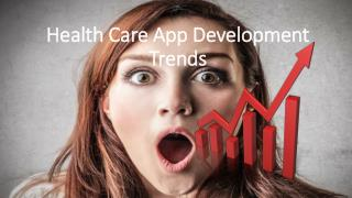 Health Care App Development Trends